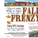 Fall Frenzy Sale