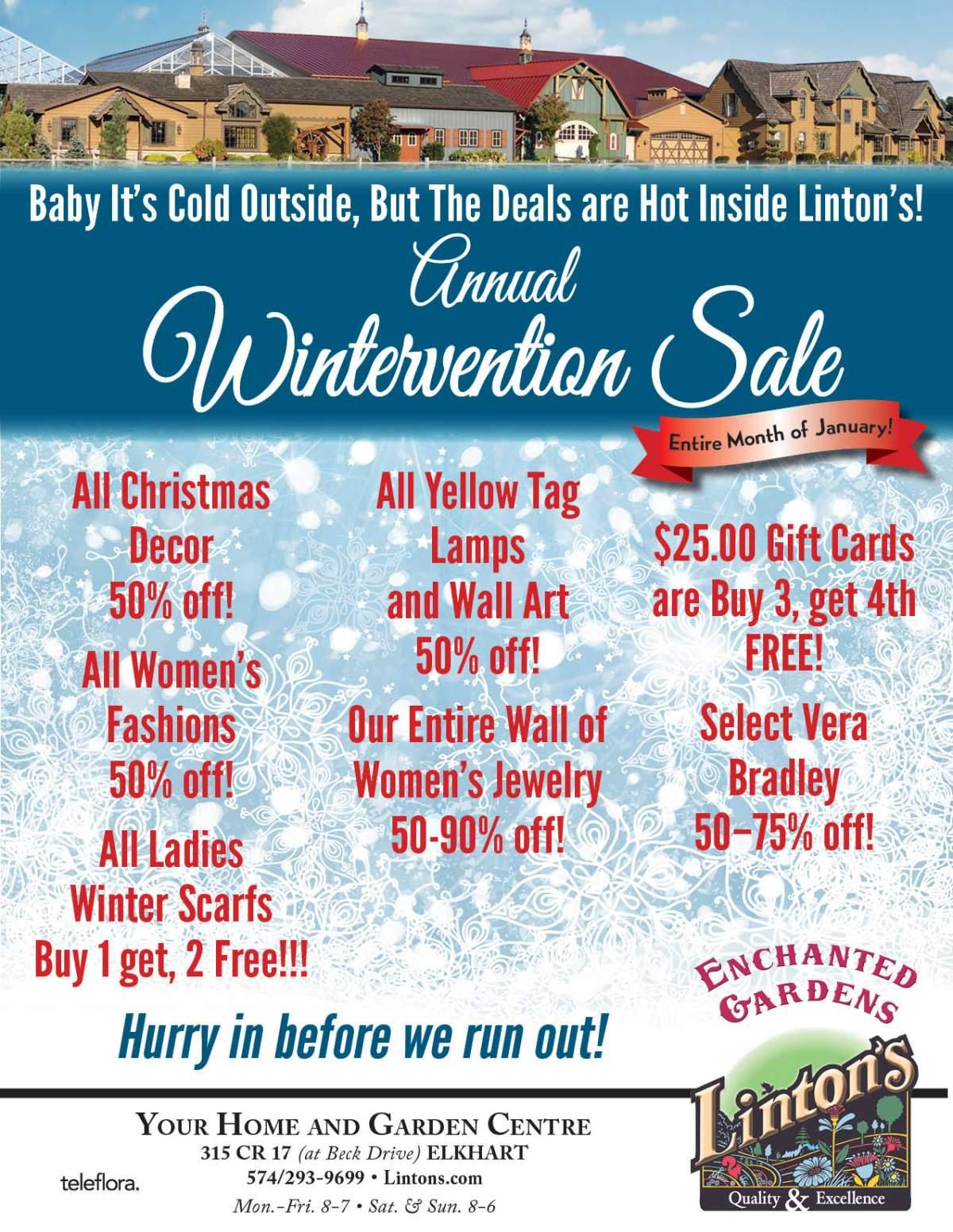 Wintervention Flyer