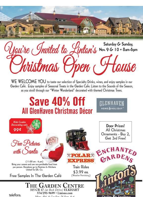 Linton's Enchanted Gardens : Christmas%20Open%20HouseFlyer