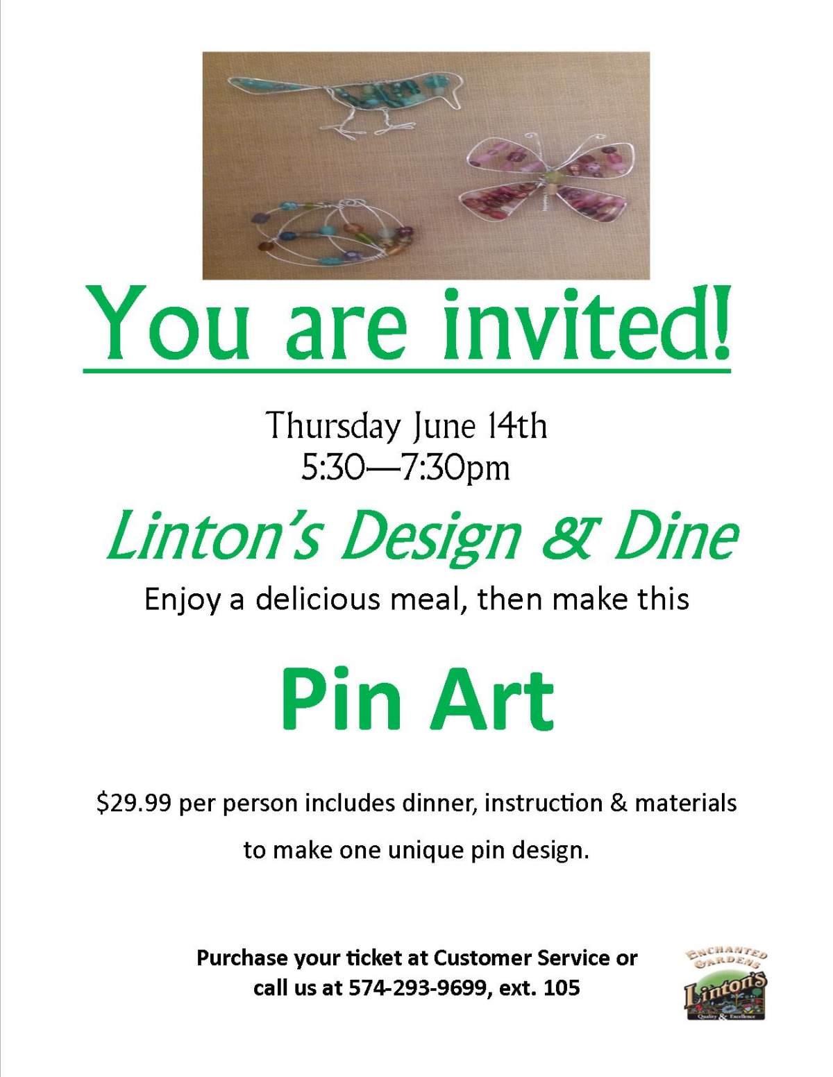 Linton's Enchanted Gardens : June%20Design%20and%20Dine%20flyer