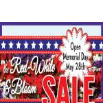 Red, White & Bloom Event!