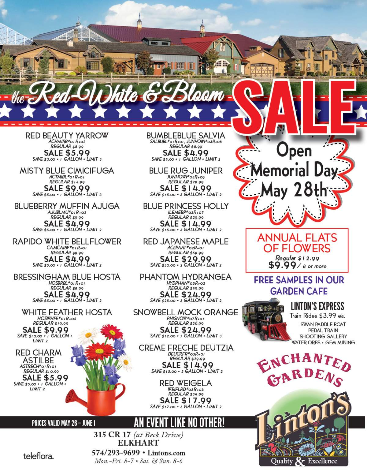Linton's Enchanted Gardens : Memorial%20Day%20Flyer 1
